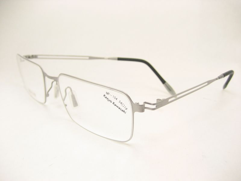 KAZUO KAWASAKI Model MP104 Eyeglasses in 24 Titanium For ...
